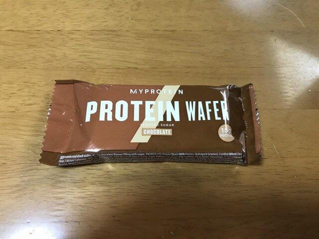 プロテインウエハースチョコ味