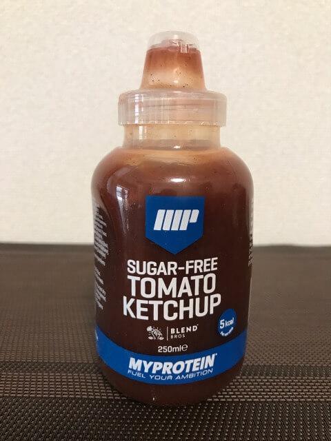 シュガーフリーソーストマトケチャップ味レビュー